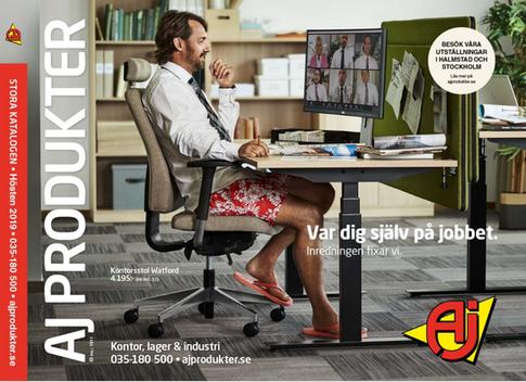 AJ Produkter, katalogomslag 2019. Fotograf: Jesper Molin