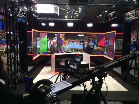 TV3 Norge. EM i Handboll Damer, Göteborg Scandinavium 2016