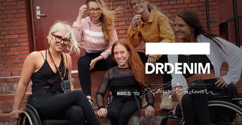 Dr.Denim i samarbete med Louise Linderoth, jeans för sittande position 2018. Foto: Ninja Hanna
