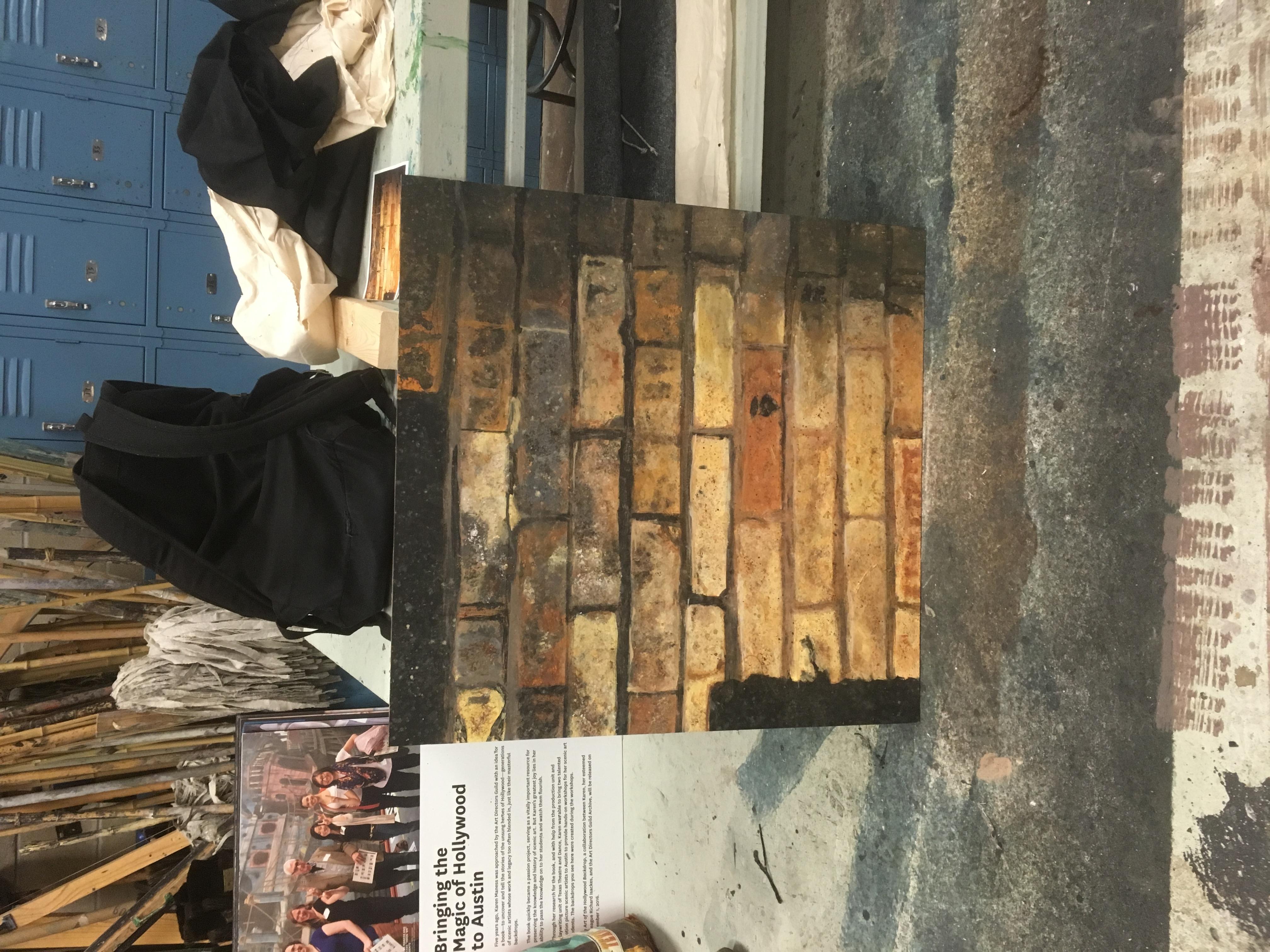 Bricks W/Stencil Complete