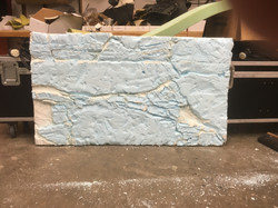 Foam Stones Carved