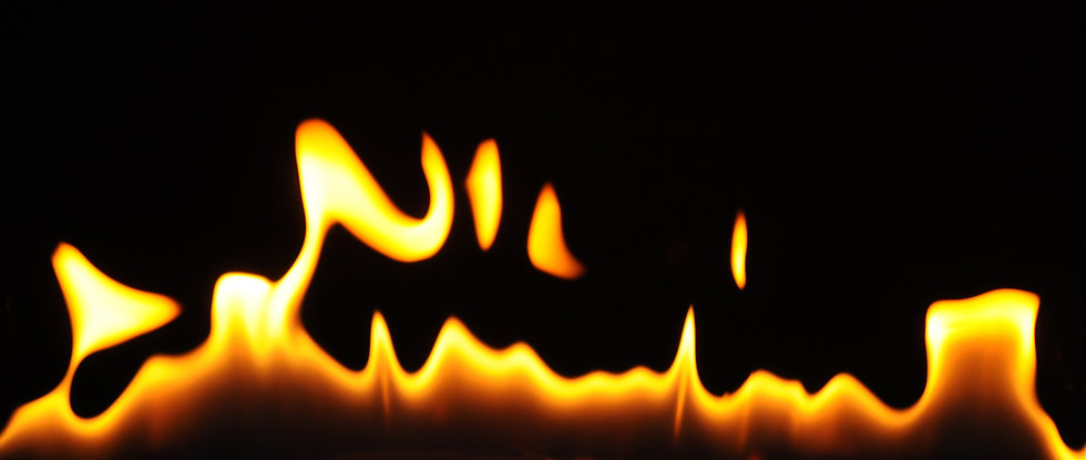 close-up-flames-of-an-alcohol-burner-on-