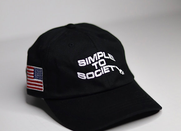 """""""Simple To Society USA"""" Dad Hat 