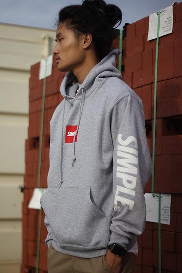 Box Logo Hoodie | Grey