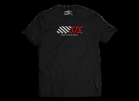 """""""STS Racing"""" T-Shirt   Black"""