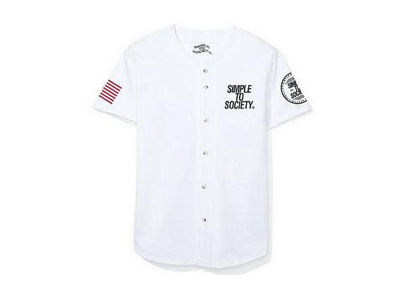Baseball Jersey | White