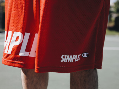CLOSER LOOK AT OUR SIMPLE© X CHAMPION SHORTS