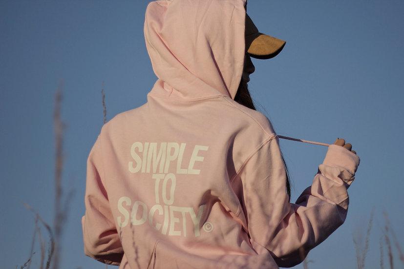 Pink Logo Pullover Hoodie