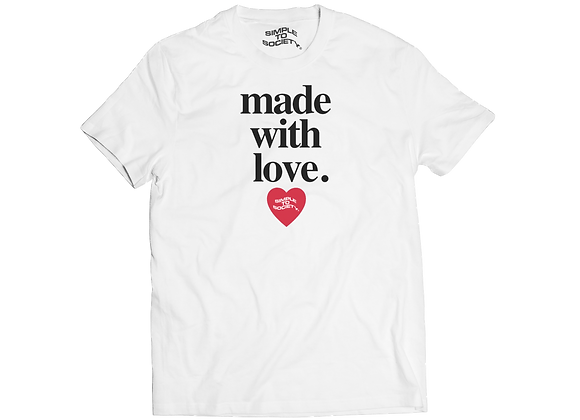 """Made With Love"" T-Shirt 