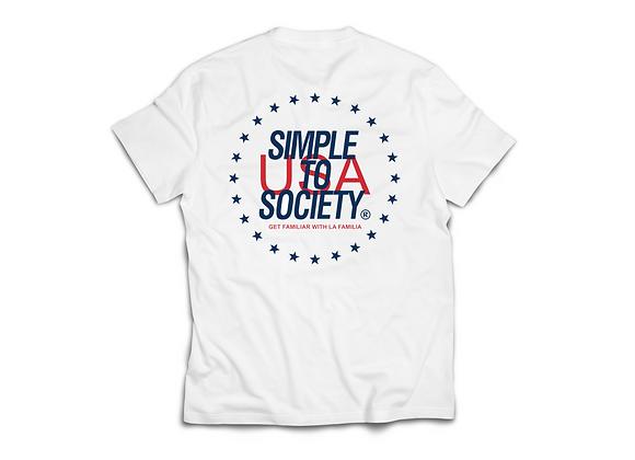 """Shooting Stars"" T-Shirt | White"