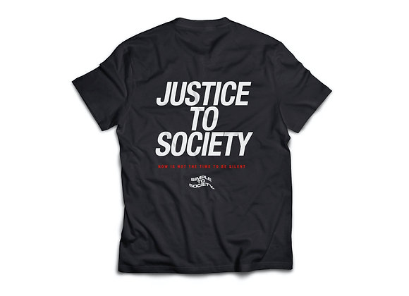 """""""Justice To Society"""" T-Shirt"""