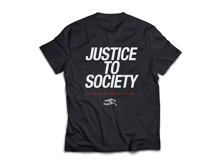 """Justice To Society"" T-Shirt"