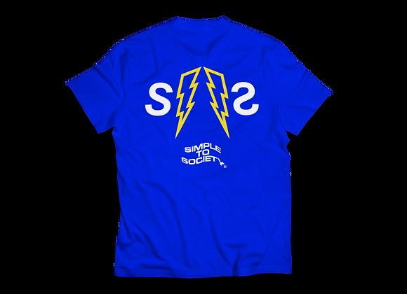 """Classic Thunderbolt"" T-Shirts | Blue"