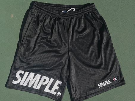 SIMPLE© x CHAMPION BASKETBALL MESH SHORTS