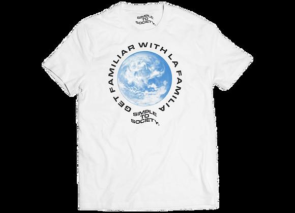 Worldwide T-Shirt   White
