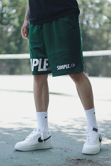 SIMPLE® Shorts // Forest Green