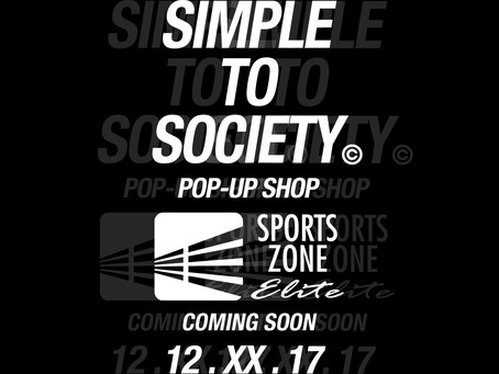 SIMPLE TO SOCIETY x SPORTS ZONE ELITE POP-UP?