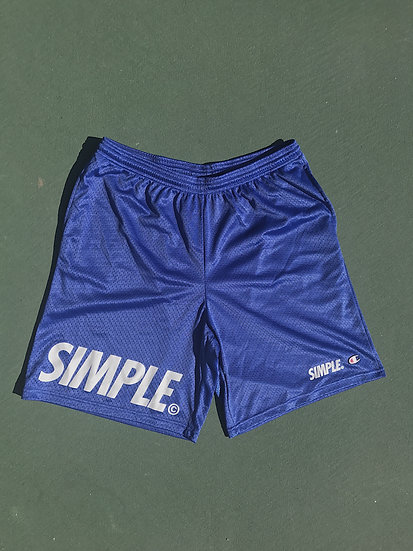 SIMPLE© Shorts // Royal Blue