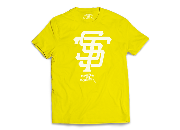 STS 21 T-Shirt   Yellow