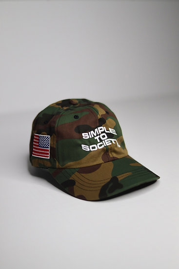"""Simple To Society USA"" Dad Hat 