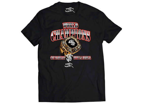 World Champs T-Shirt | Black