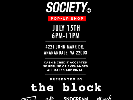POP-UP SHOP @ THE BLOCK!