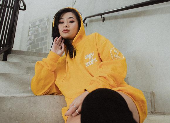 Golden Yellow Logo Hoodie