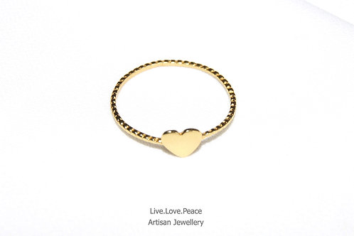 'Pure Love' Gold Ring