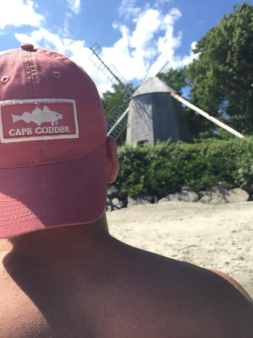 Cape Codder Relaxed Twill Hat - Nantucket Red