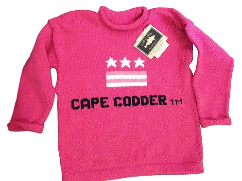 Cape Codder Rollneck USA Sweater - Pink