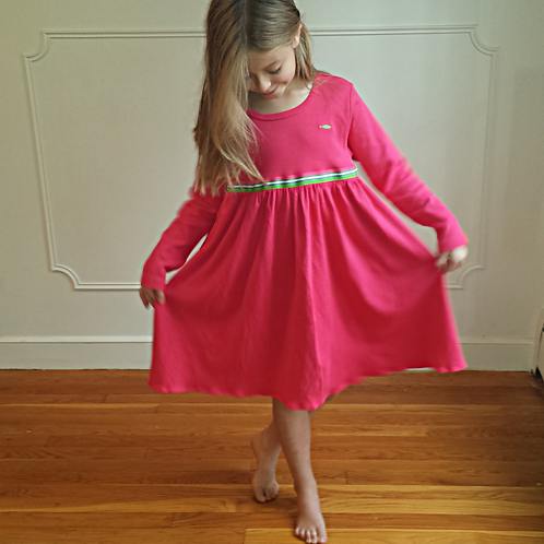 Empire Cape Codder Dress - Pink