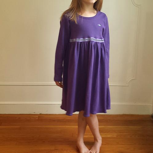 Empire Cape Codder Dress - Purple