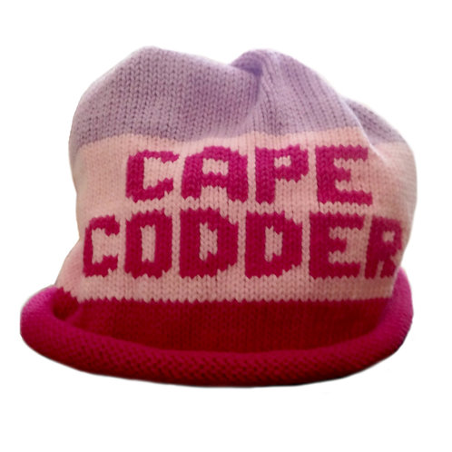 Cape Codder Knit Hat - Purple/Pink