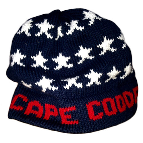 Cape Codder Knit Hat - Stars