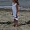 Thumbnail: CC Tank Top Ruffle Dress - White