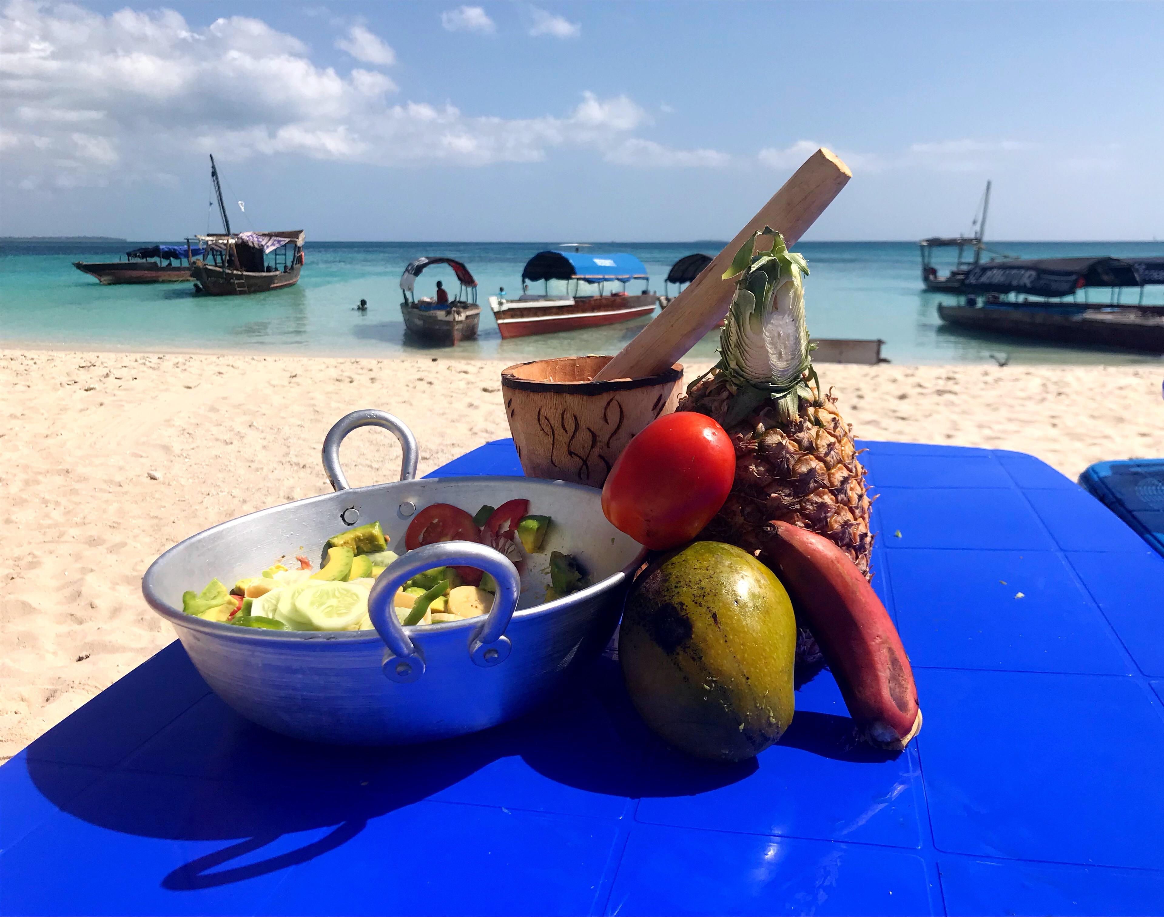 Zanzibar fruits