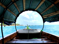View from Serenity boat