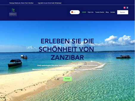 German Website version online