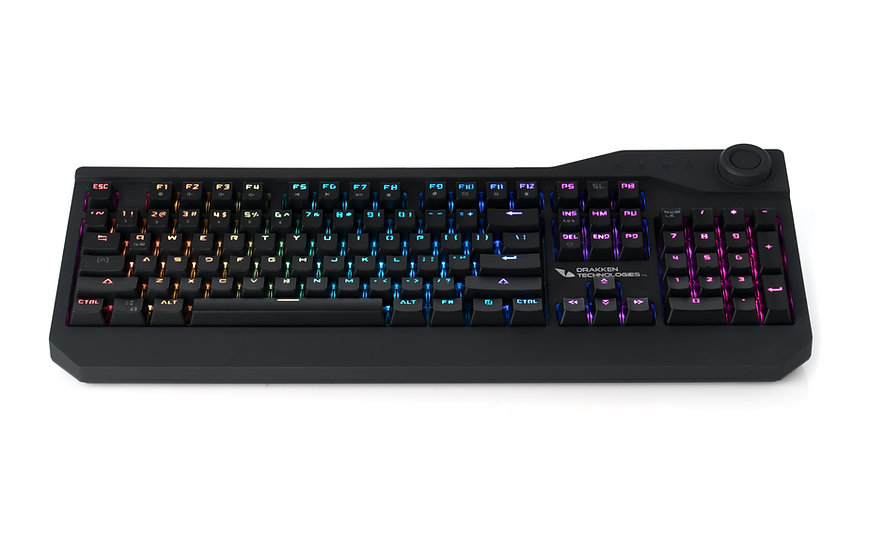 Drakken Technologies Prothero Spektrum, Hot-Swap Mechanical Gaming Keyboard