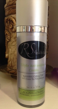 Triple antioxidant cream
