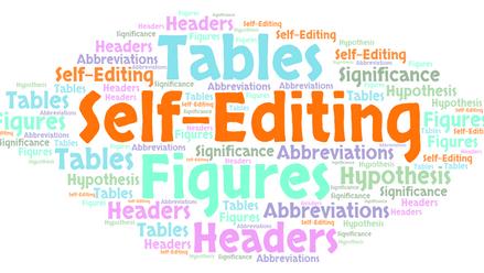 Self-editing Tips for Manuscripts