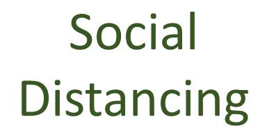 Social Distancing (3/14/2020)