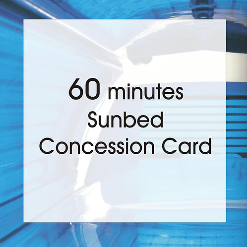 60 Minutes Concession Card