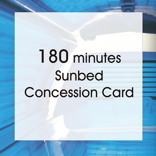 180 Minutes Concession Card