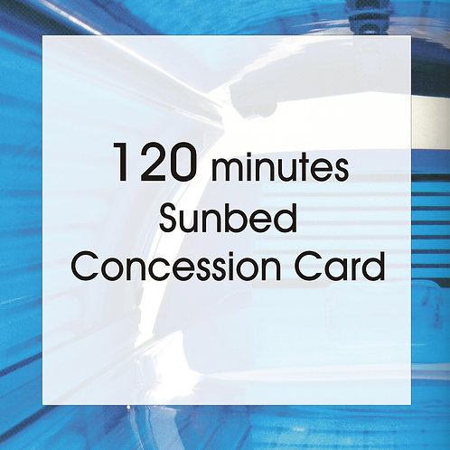 120 Minutes Concession Card