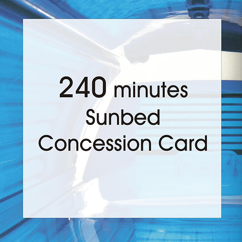 240 Minutes Concession Card