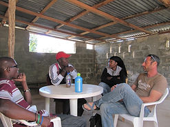 Discussion with community members Haiti