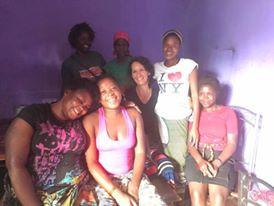 Loving on Girls in Zambia