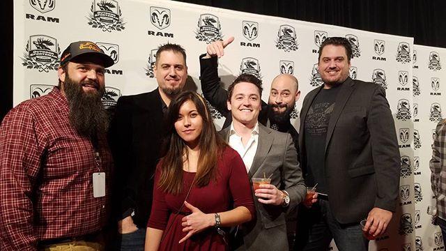 The crew! #DualityFilmworks #DigitalDawn #RealityTV #OutdoorSportsmanAwards