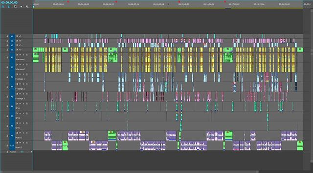 And this, folks, is what a half hour of TV looks like
